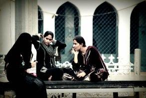 Gossip after morning prayers