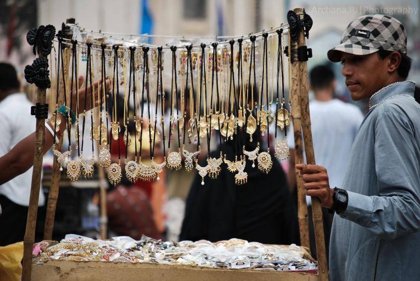 Seller at Charminar