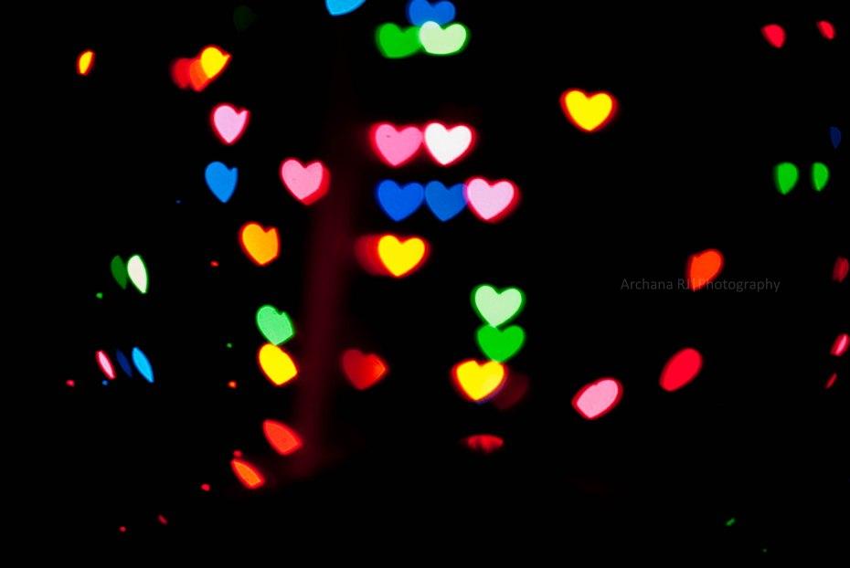 Heart Bokeh