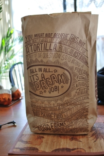 Once a while I enjoy lunch from Chipotle, especially Fridays!