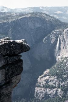 Hanging Rock and Yosemite Falls